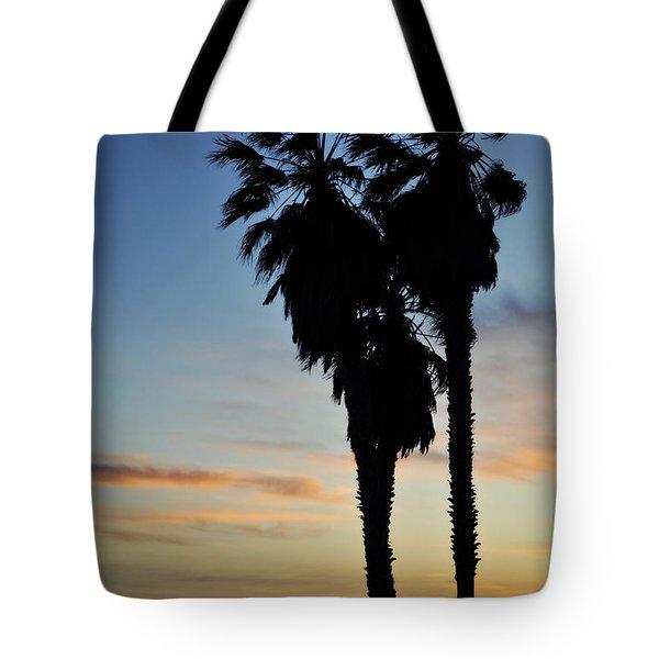 Ventura Palm Sunset Tote Bag