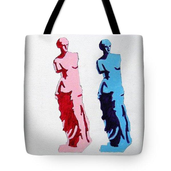 Venus De Milo Statue Tote Bag by Venus