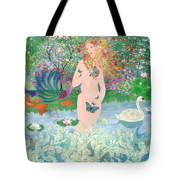 Venus En Primavera Tote Bag