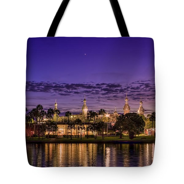 Venus Over The Minarets Tote Bag by Marvin Spates