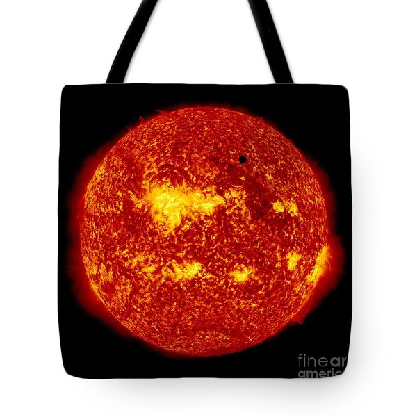 Venus Transit Tote Bag by NASA and Photo Researchers