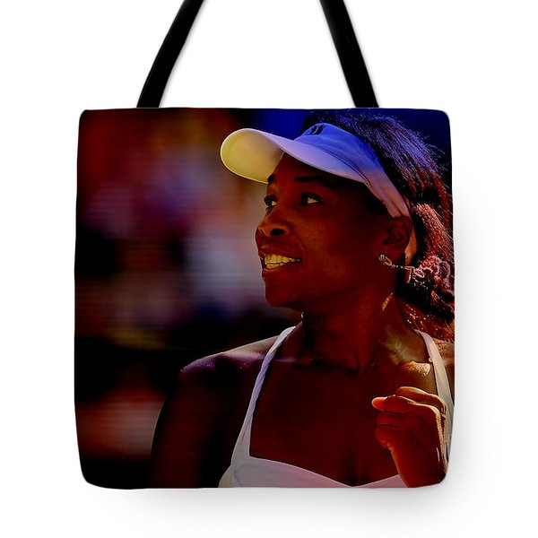Venus Williams Tote Bag by Marvin Blaine