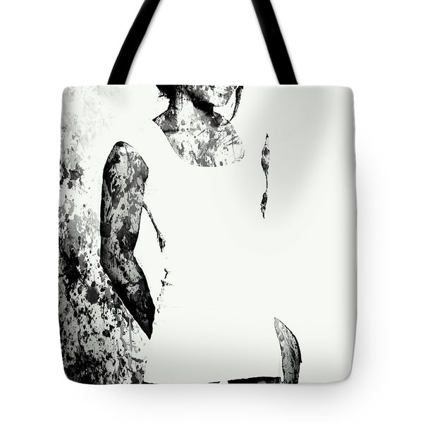 Venus Williams Paint Splatter 2c Tote Bag by Brian Reaves