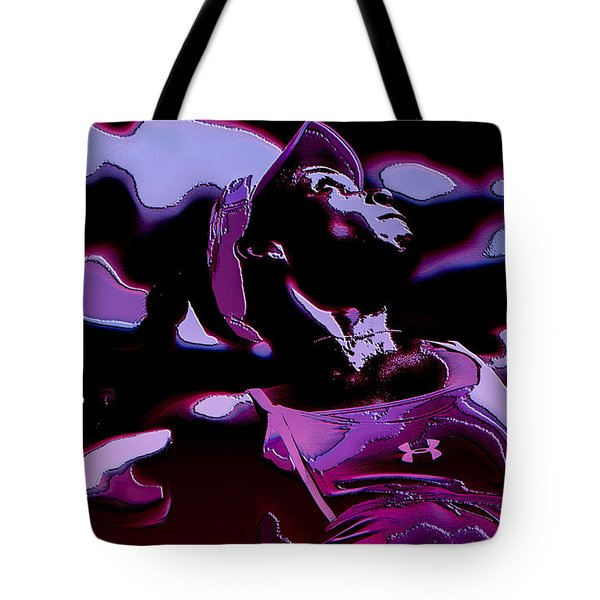 Venus Williams Queen V Tote Bag by Brian Reaves
