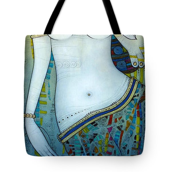 Venus With Doves Tote Bag