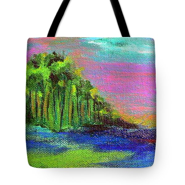 Verdant Tuft Tote Bag by Elizabeth Fontaine-Barr