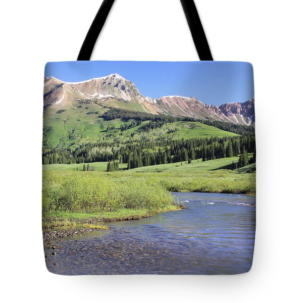 Verdant Valley Tote Bag