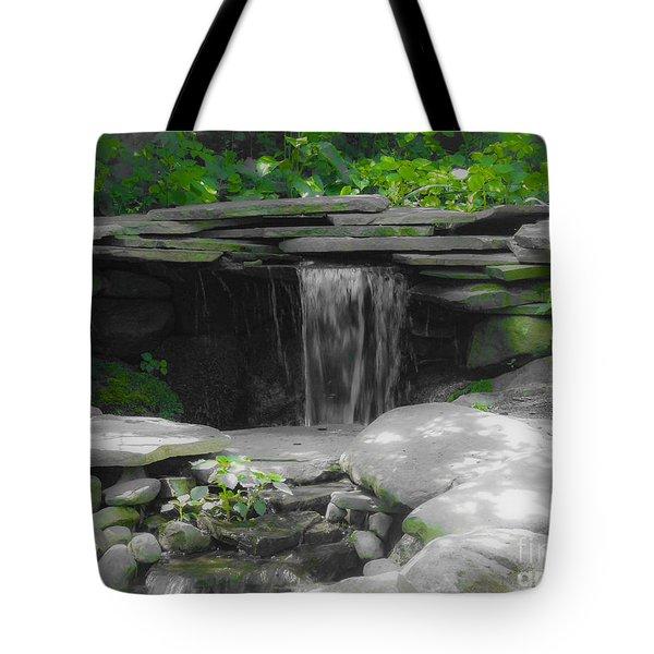 Verde Falls Tote Bag