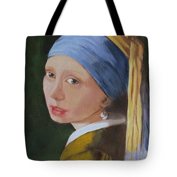 Vermeer Study Tote Bag by Sharon Schultz