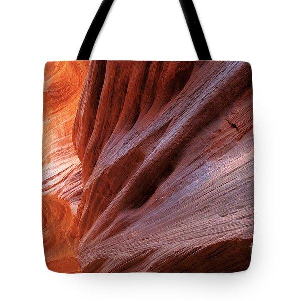 Vermilion Canyon Walls Tote Bag