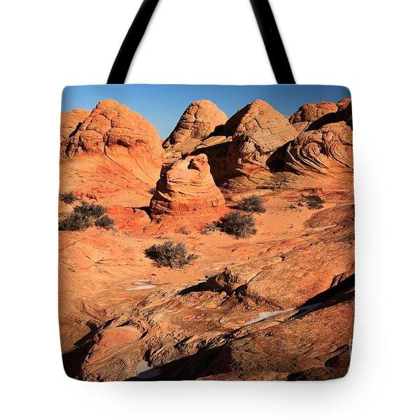 Vermilion Landscape Tote Bag