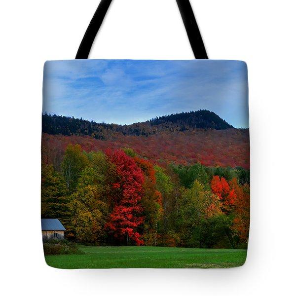 Vermont Barn Tote Bag