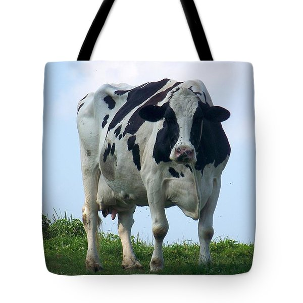 Vermont Dairy Cow Tote Bag by Eunice Miller
