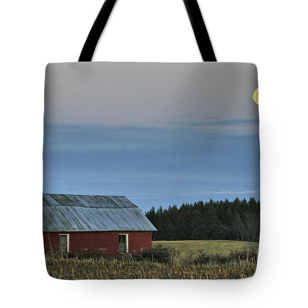 Vermont Full Moon Tote Bag