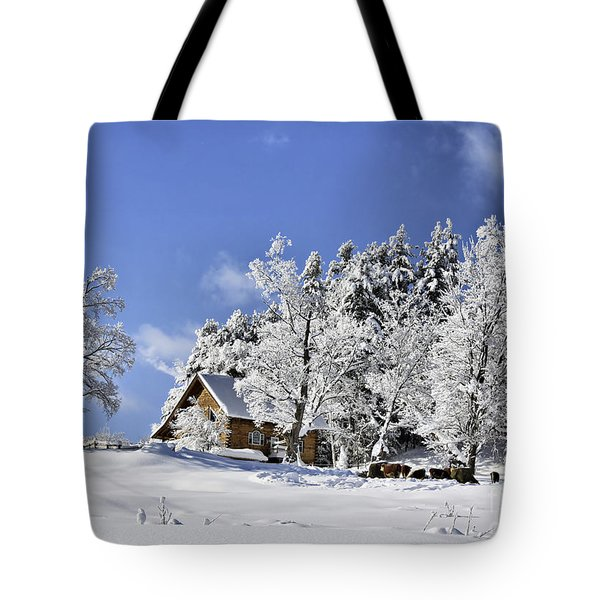 Vermont Winter Beauty Tote Bag
