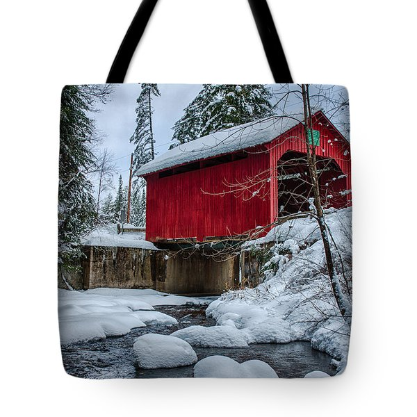 Vermonts Moseley Covered Bridge Tote Bag