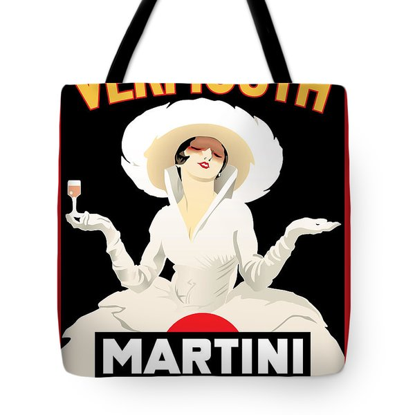 Vermouth Martini Tote Bag