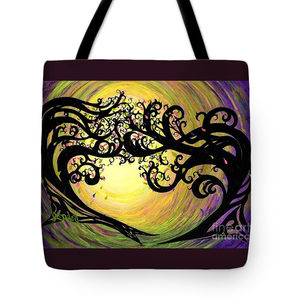 Vernal Equinox Tote Bag by Janine Riley