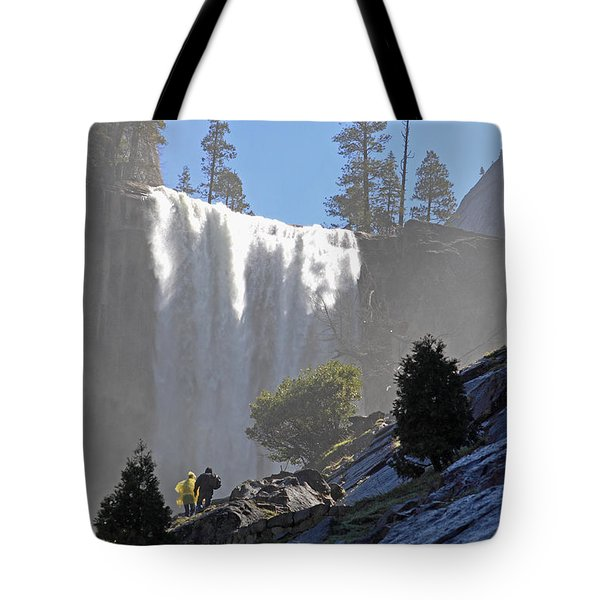 Vernal Falls Mist Trail Tote Bag