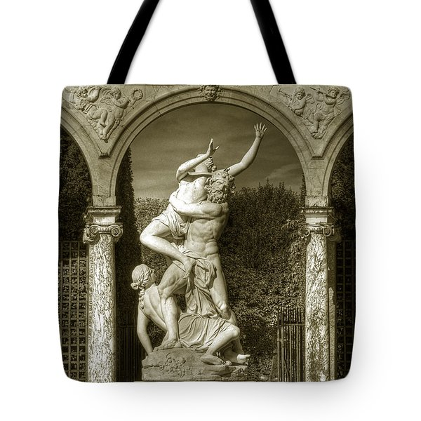 Versailles Colonnade And Sculpture Tote Bag