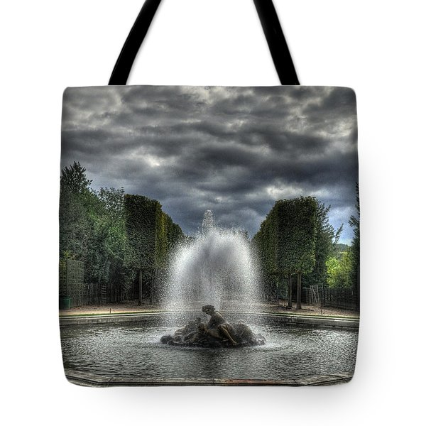 Versailles Fountain Tote Bag