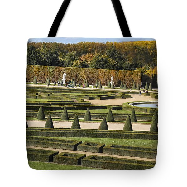 Tote Bag featuring the photograph Versailles Gardens by Glenn DiPaola