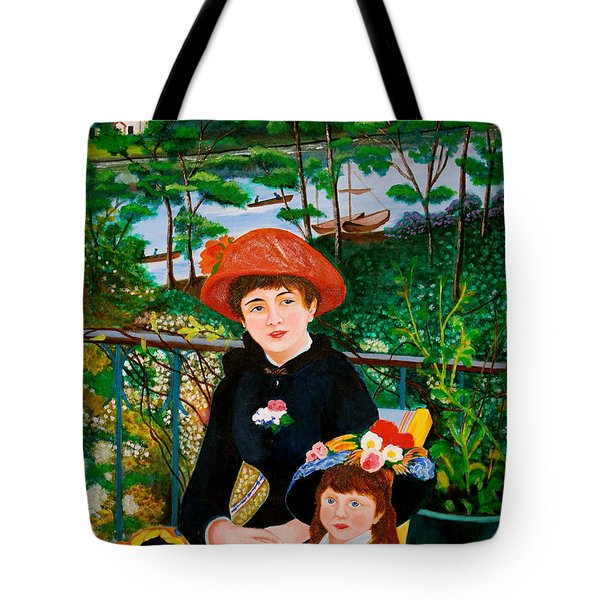 Version Of Renoir's Two Sisters On The Terrace Tote Bag