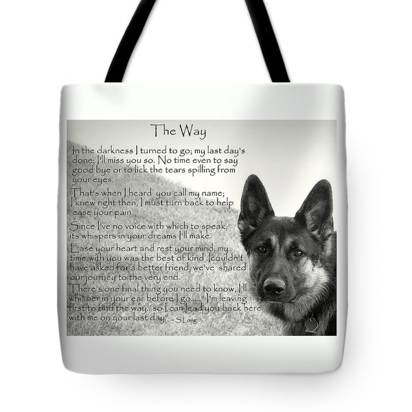 version two  The Way Tote Bag