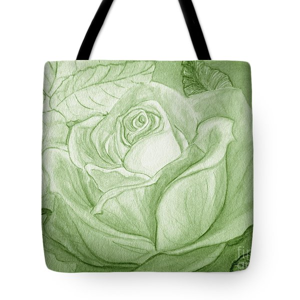 Vert Tote Bag by Heather  Hiland