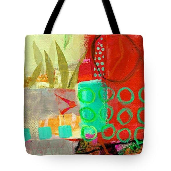 Vertical 5 Tote Bag