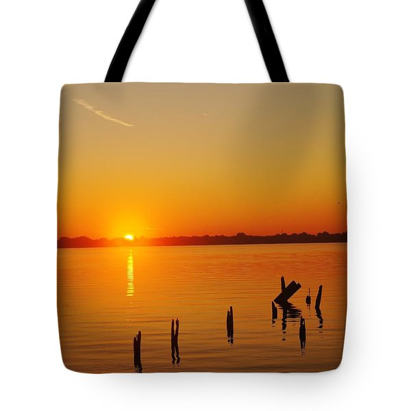 Vertical Ascent Tote Bag