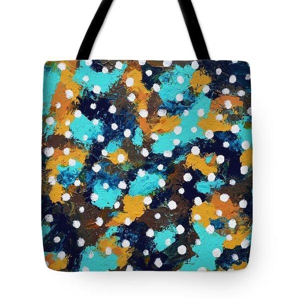 Vertigo Tote Bag by Donna  Manaraze