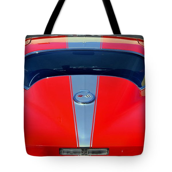 Very Cool Corvette Tote Bag by Dean Ferreira