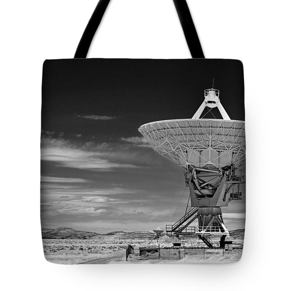 Very Large Array Radio Telescopes Tote Bag by Christine Till