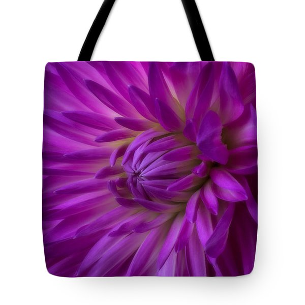Very Pink Dahlia Tote Bag by Garry Gay