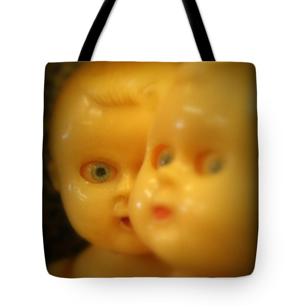 Tote Bag featuring the photograph Very Scary Doll by Lynn Sprowl
