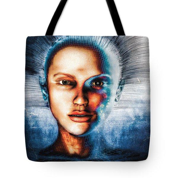 Very Social Network Tote Bag by Bob Orsillo