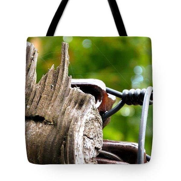 Veteran Timber Tote Bag