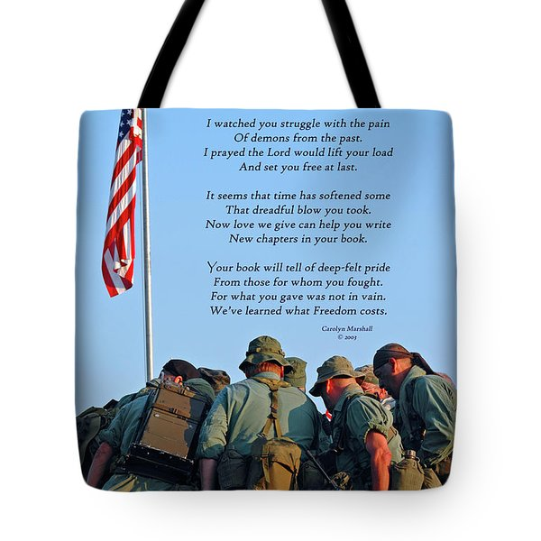 Veterans Remember Tote Bag