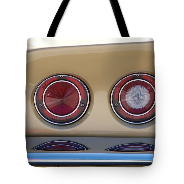 Vette Lights Tote Bag