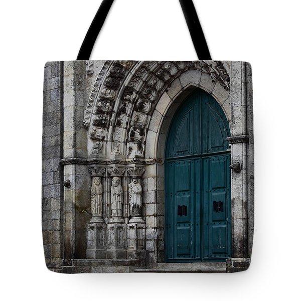Viana Do Castelo Cathedral Tote Bag by James Brunker