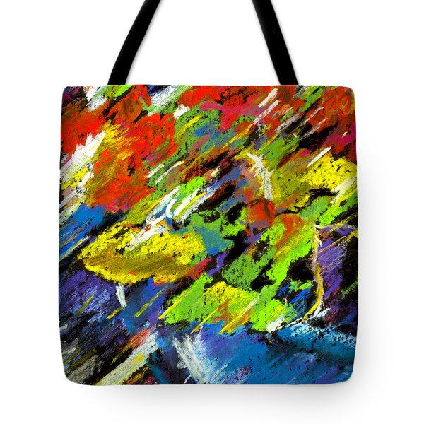 Colorful Impressions Tote Bag