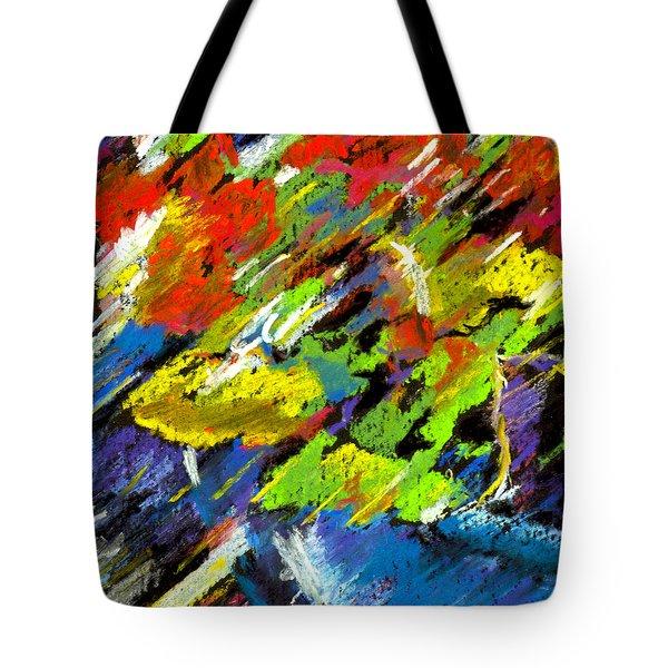 Colorful Impressions Tote Bag