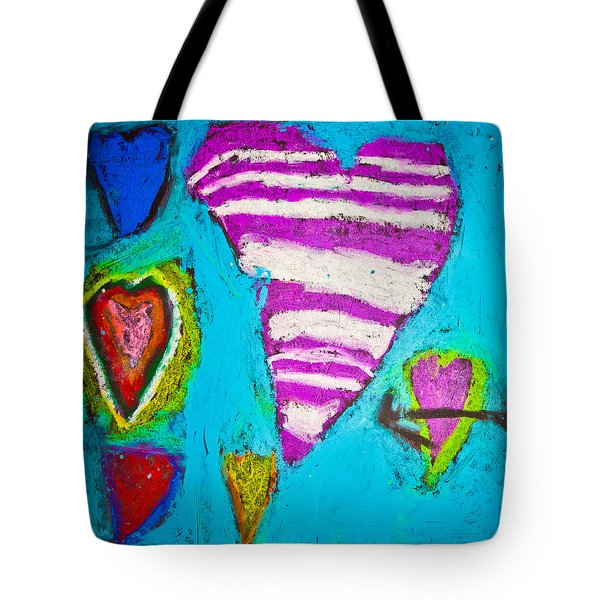 Tote Bag featuring the photograph Vibrant Love by Sara Frank