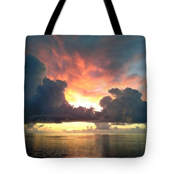 Vibrant Skies 2 Tote Bag