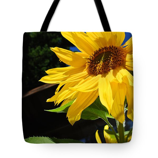 Vibrant Sunflowers Tote Bag