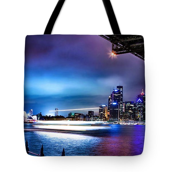 Vibrant Sydney Harbour Tote Bag