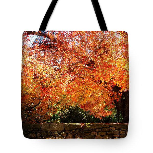 Vibrant Tree Tote Bag