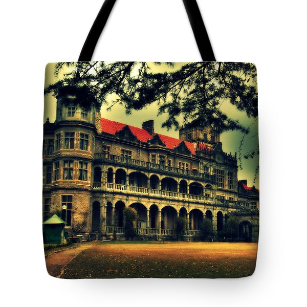 Viceregal Lodge Shimla Tote Bag by Salman Ravish
