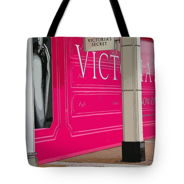 Vicky Tote Bag by David Bearden